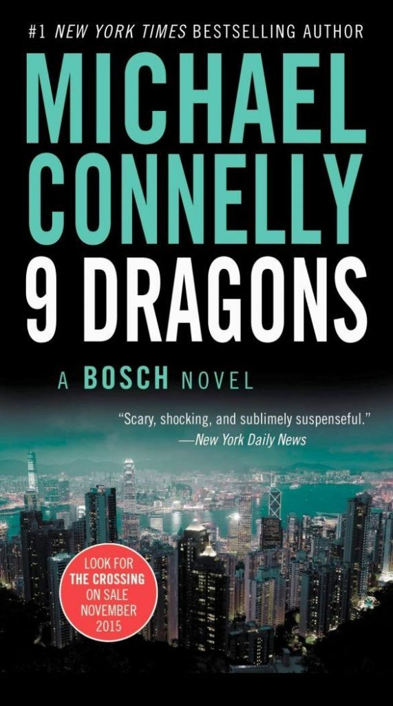 9 Dragons by Michael Connelly Cover