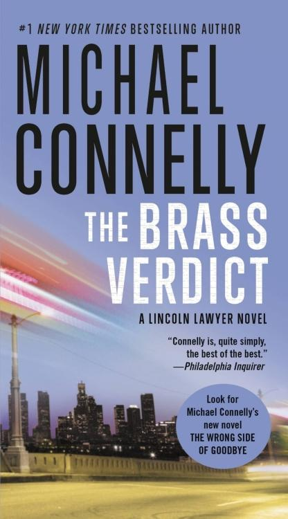 Brass Verdict by Michael Connelly Cover