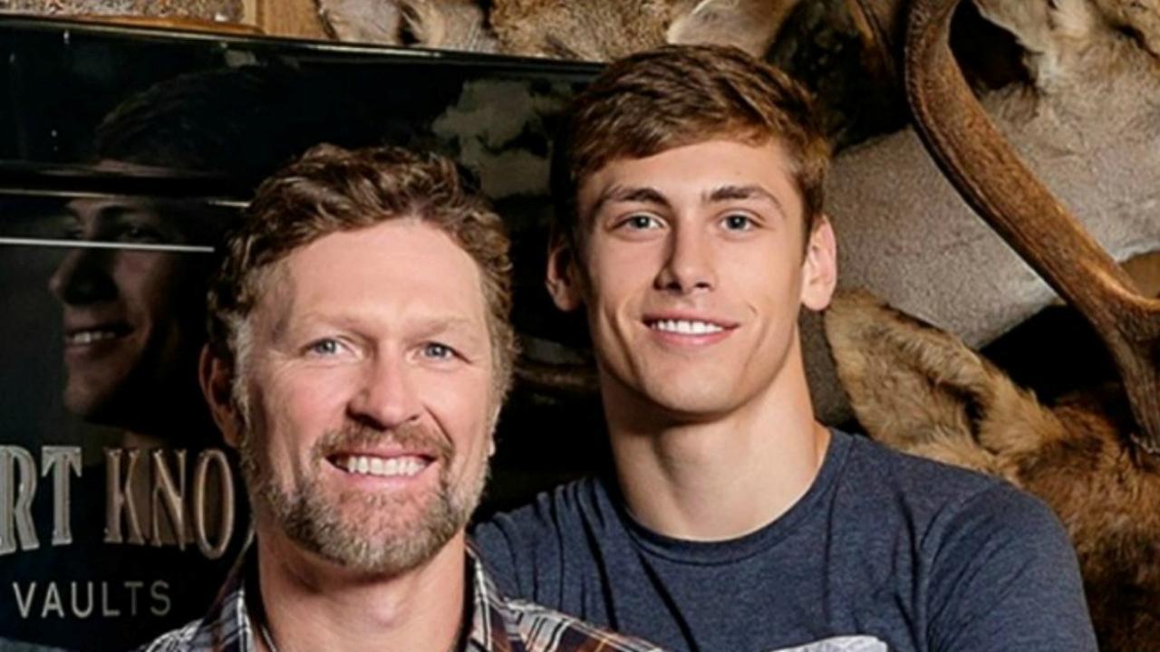 Craig Morgan and his son Jerry