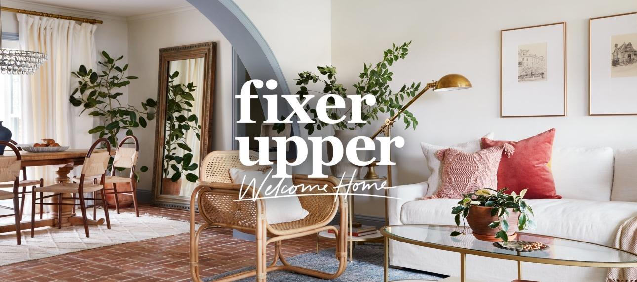 Fixer Upper Welcome Home Banner