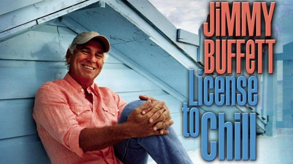 Jimmy Buffett License to Chill album cover