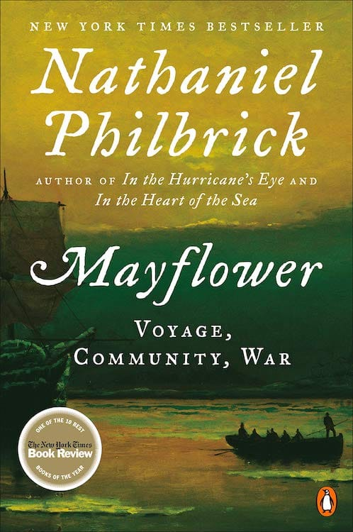 Mayflower by Nathaniel Philbrick Cover