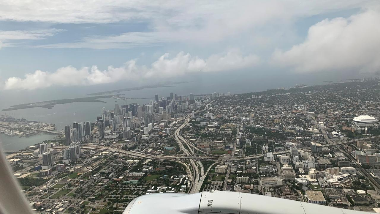 Miami from the Air July 2021