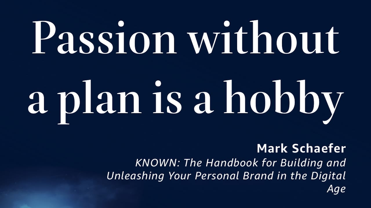 Passion Without a Plan