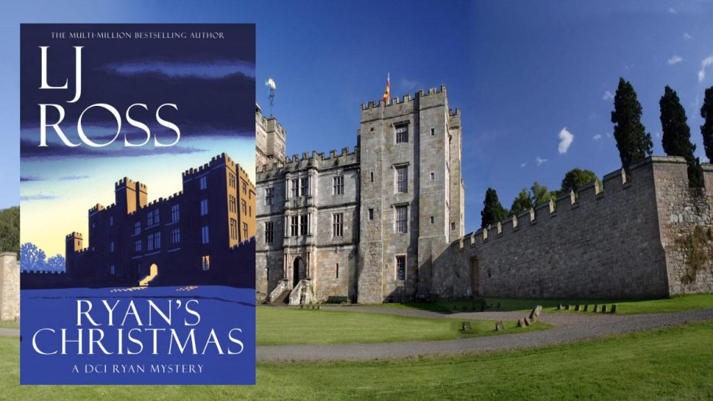 Ryan's Christmas by LJ Ross Cover and Chillingham Castle in background