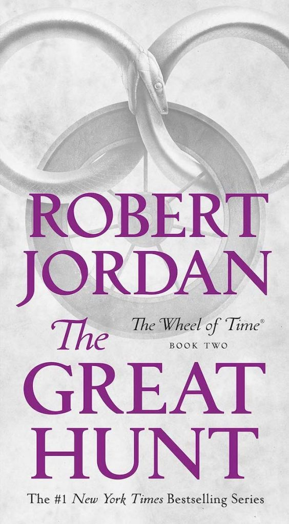 The Great Hunt by Robert Jordan Cover
