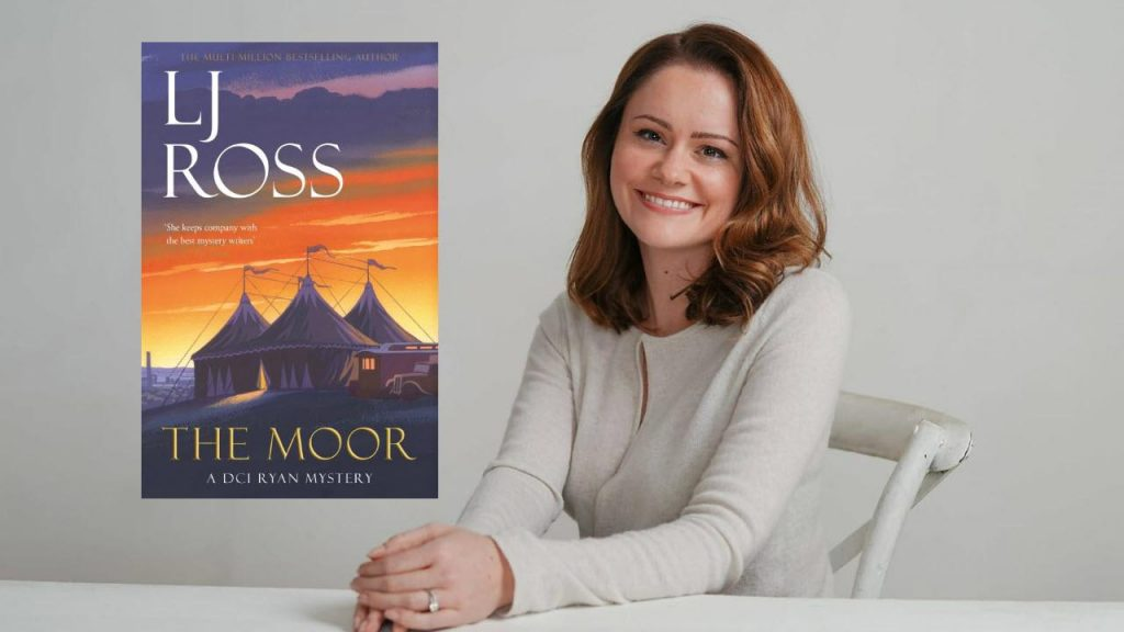 The Moor by LJ Ross Banner